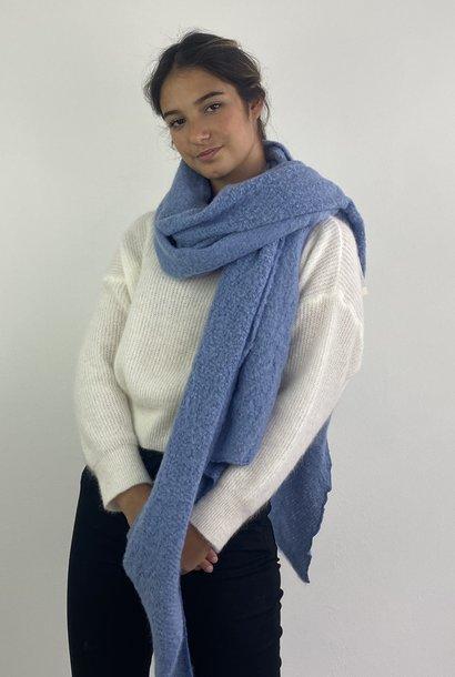 Ülka essential scarf Blue Denim