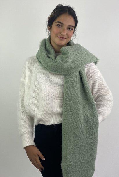 Ülka essential scarf Powder Green