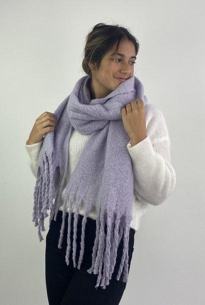Hondu essential scarf Powder Lila