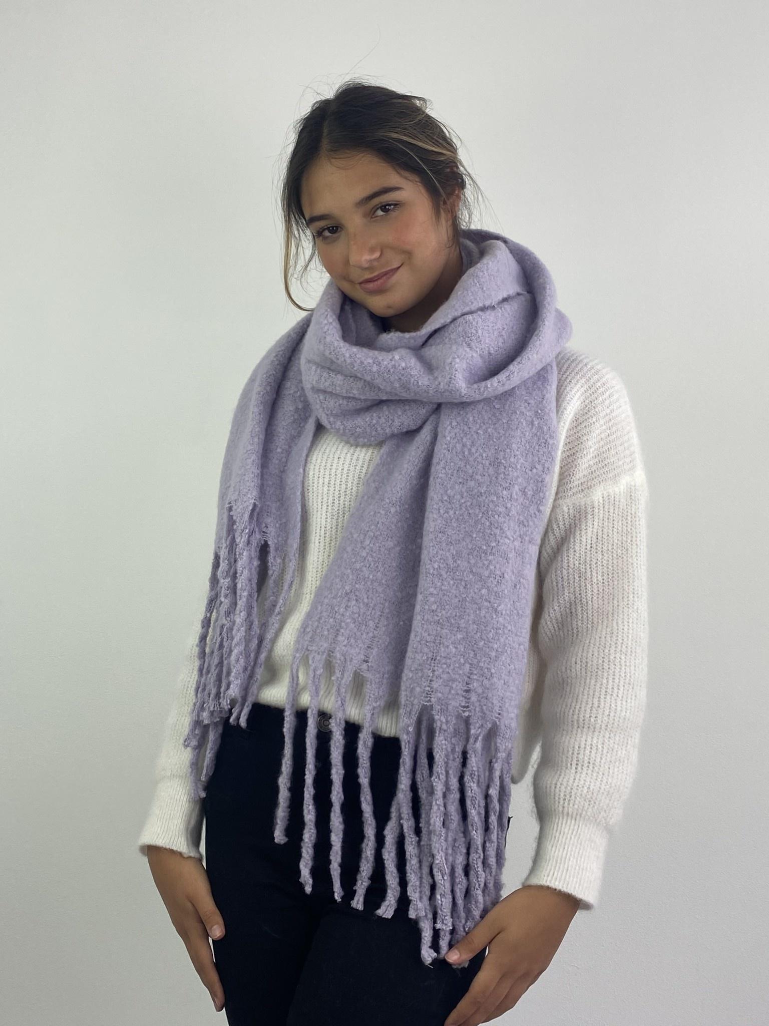 Hondu essential scarf Powder Lila-2