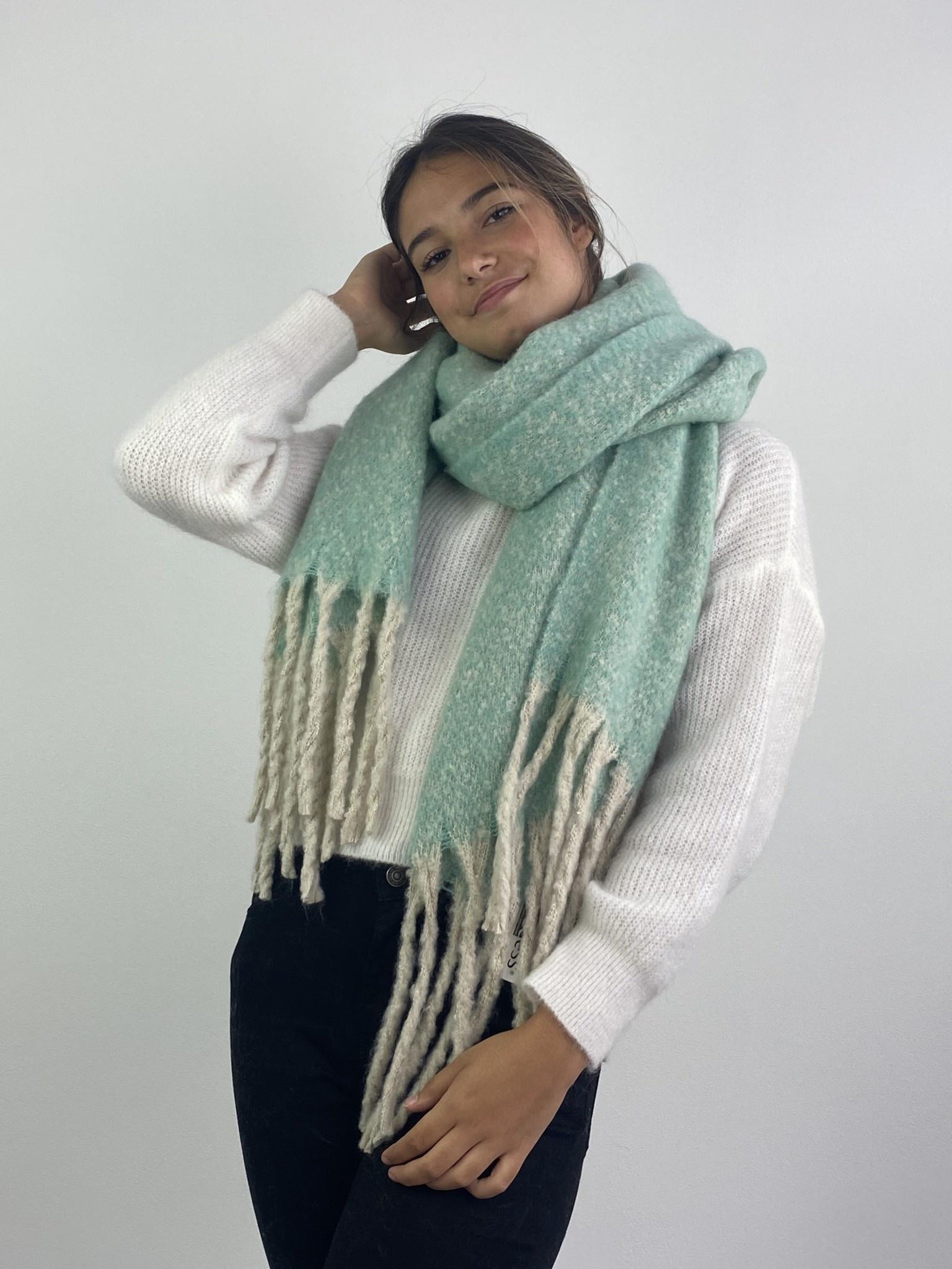 Mathé scarf Mint-2