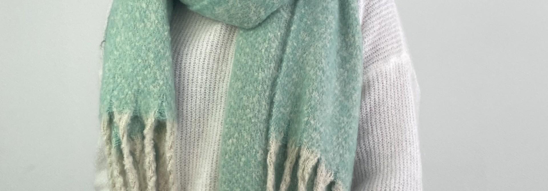 Mathé scarf Mint