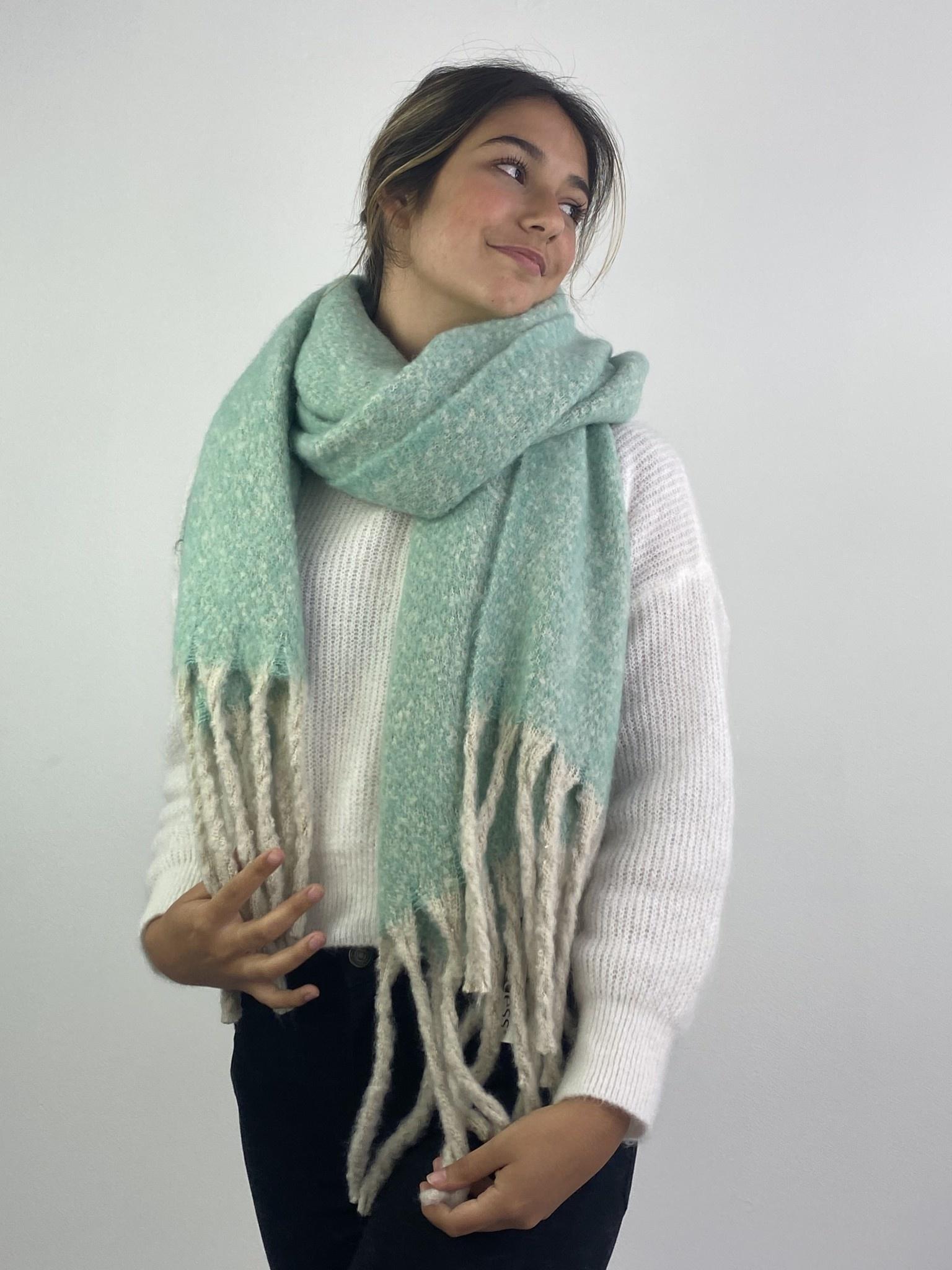 Mathé scarf Mint-1