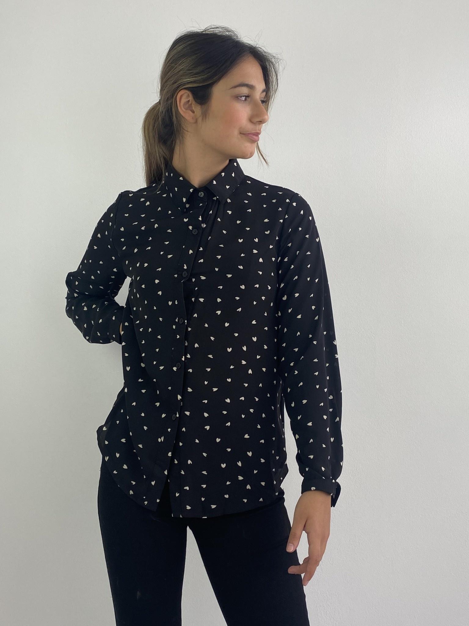 Loavi blouse Black-1