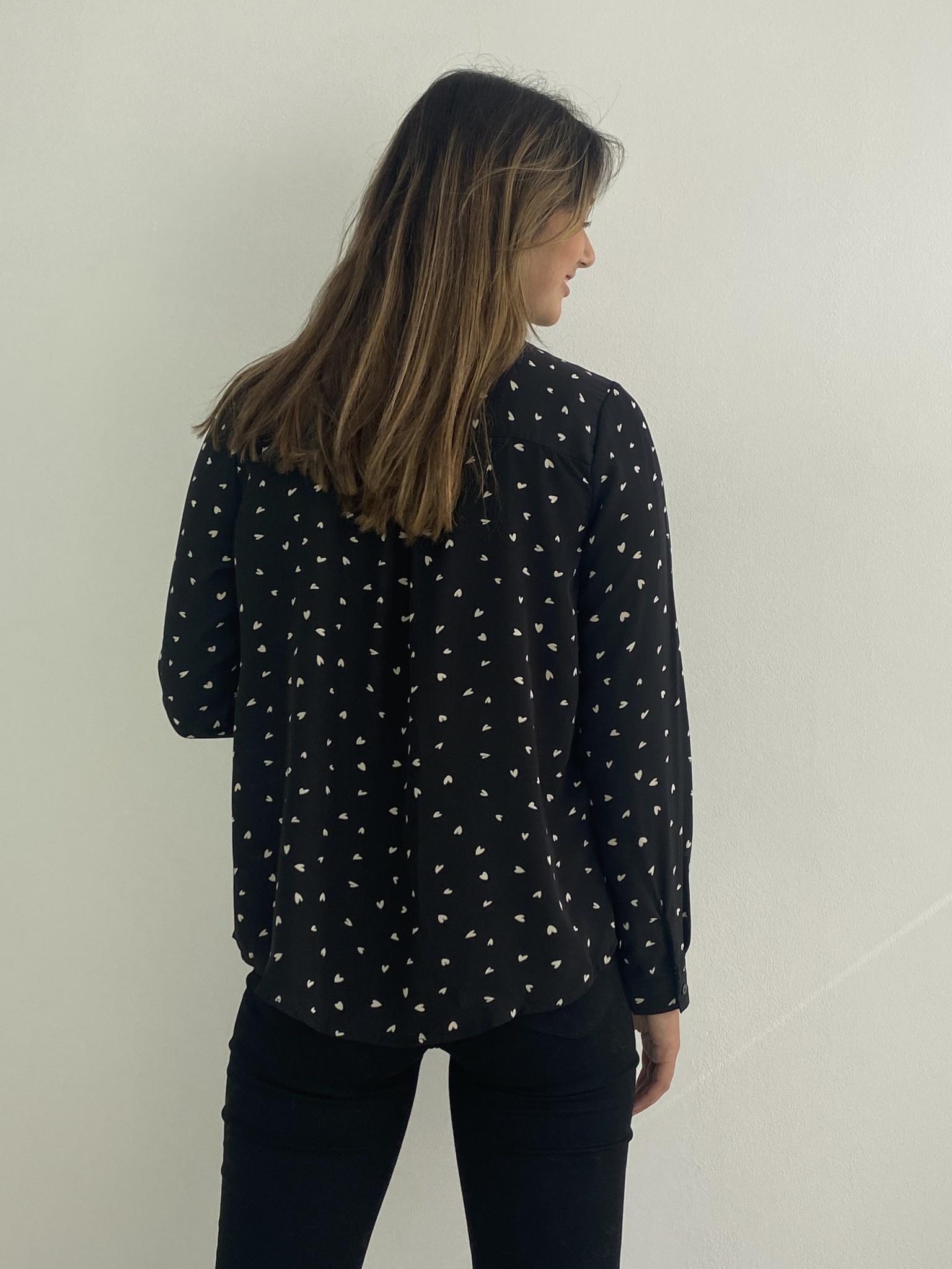 Loavi blouse Black-3
