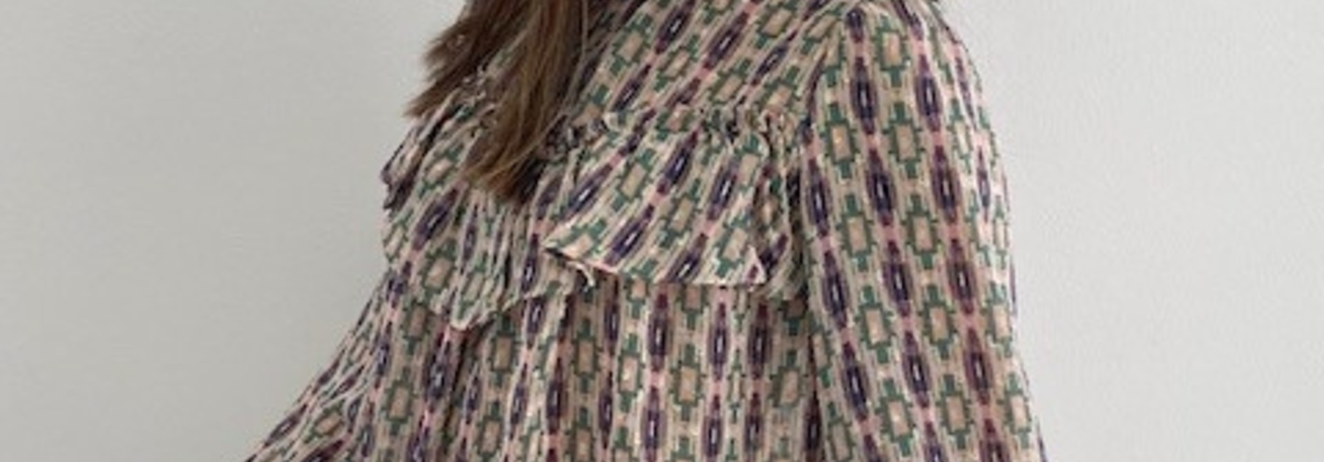 Ashley bohemain blouse Green