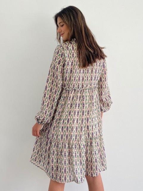 Ashley bohemain dress Green-2