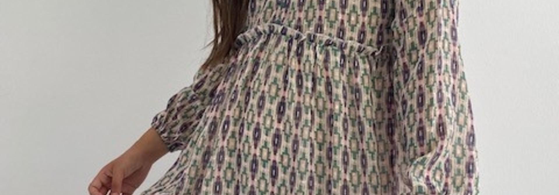 Ashley bohemain dress Green