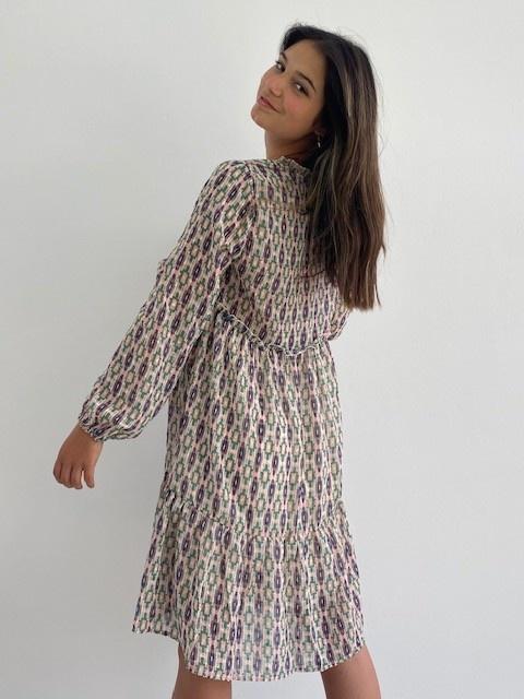 Ashley bohemain dress Green-4