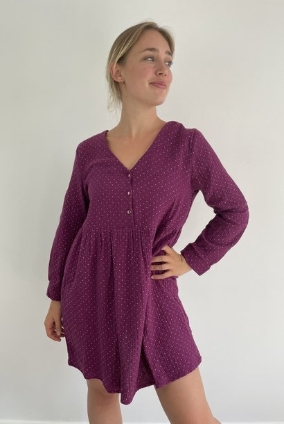 Misha tetra dress Purple