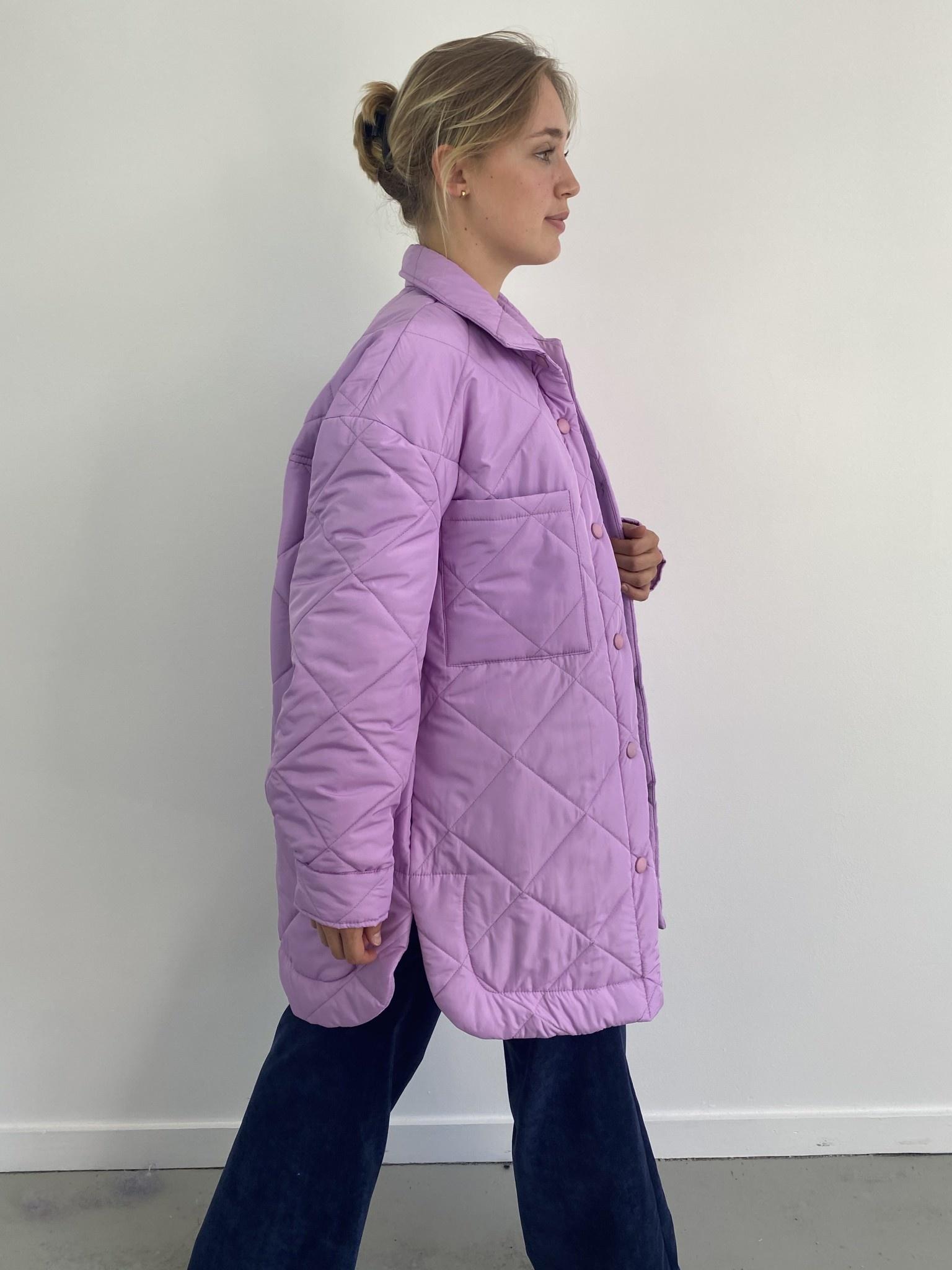 Hula matelasse jacket Lila-2