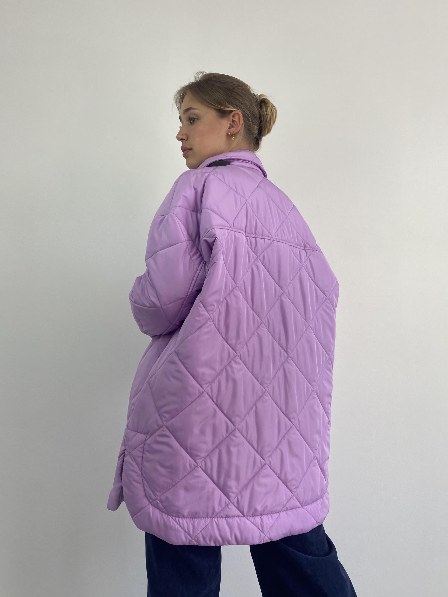 Hula matelasse jacket Lila-3