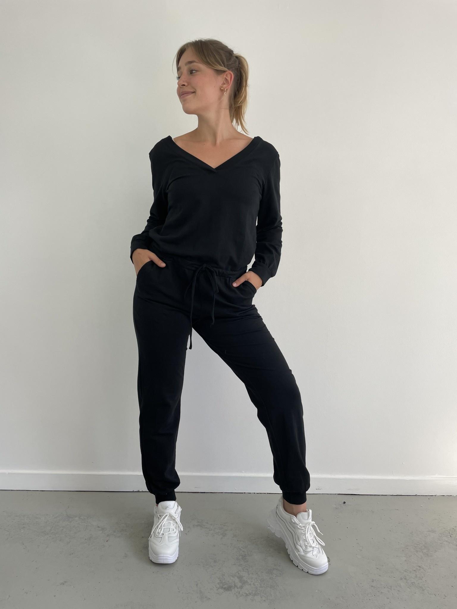 Imke jumpsuit Black-1