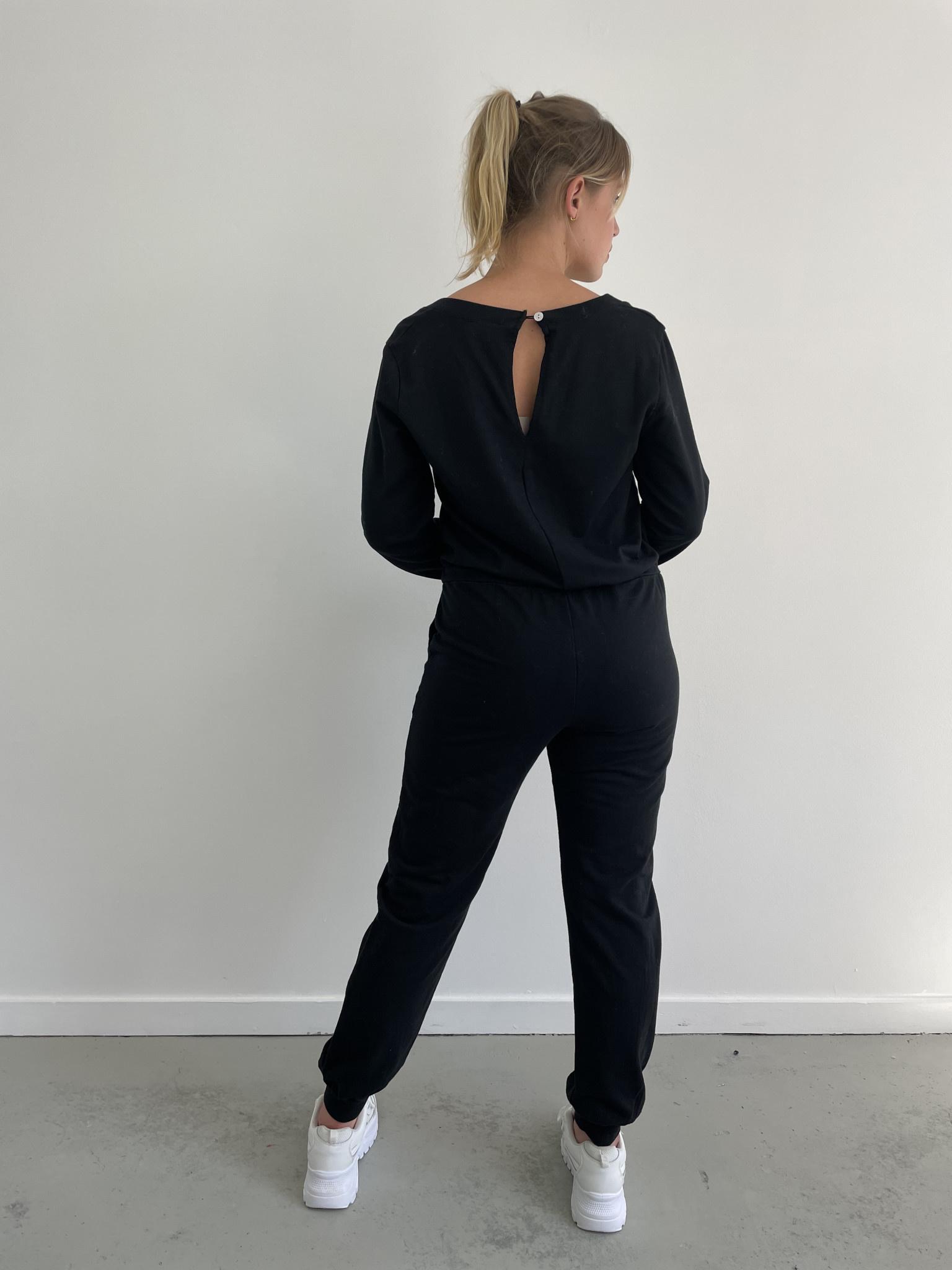 Imke jumpsuit Black-2