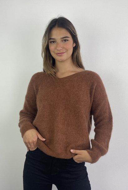 Louna v-neck knitted pull Chest