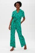 Hazel jumpsuit Green Hearts-4