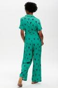 Hazel jumpsuit Green Hearts-5