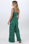Francesca jumpsuit Green Dots-4