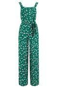 Francesca jumpsuit Green Dots-5