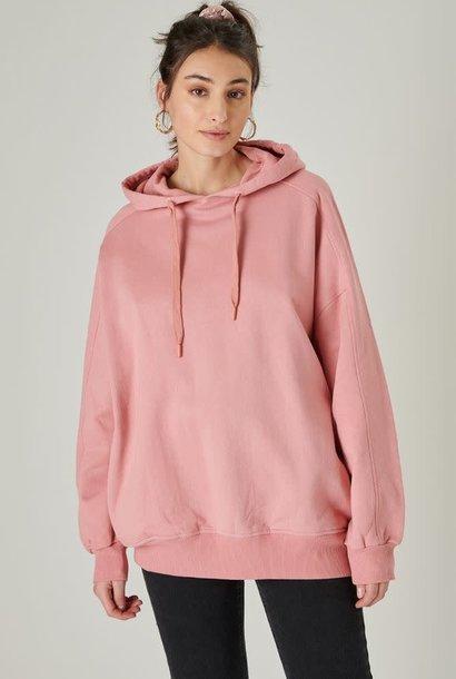Katiya oversized hooded sweater Rose