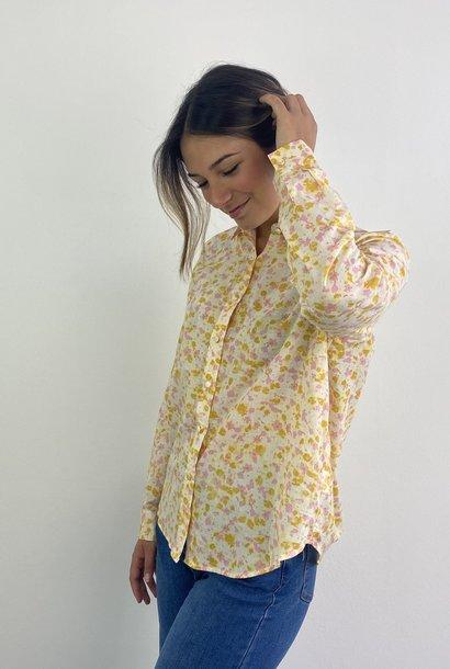 Rikka cotton blouse Almond