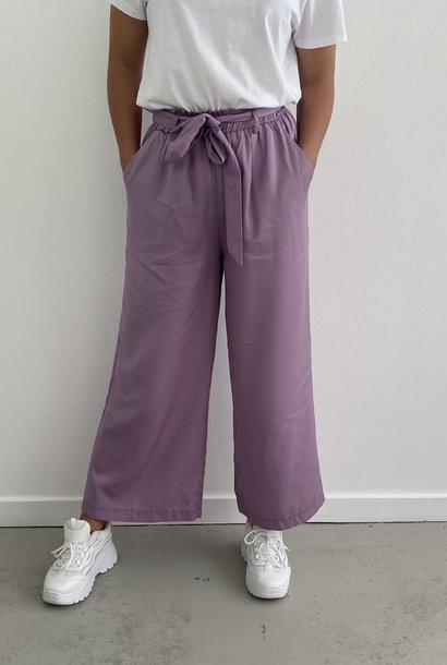 Natu wide pant Purple