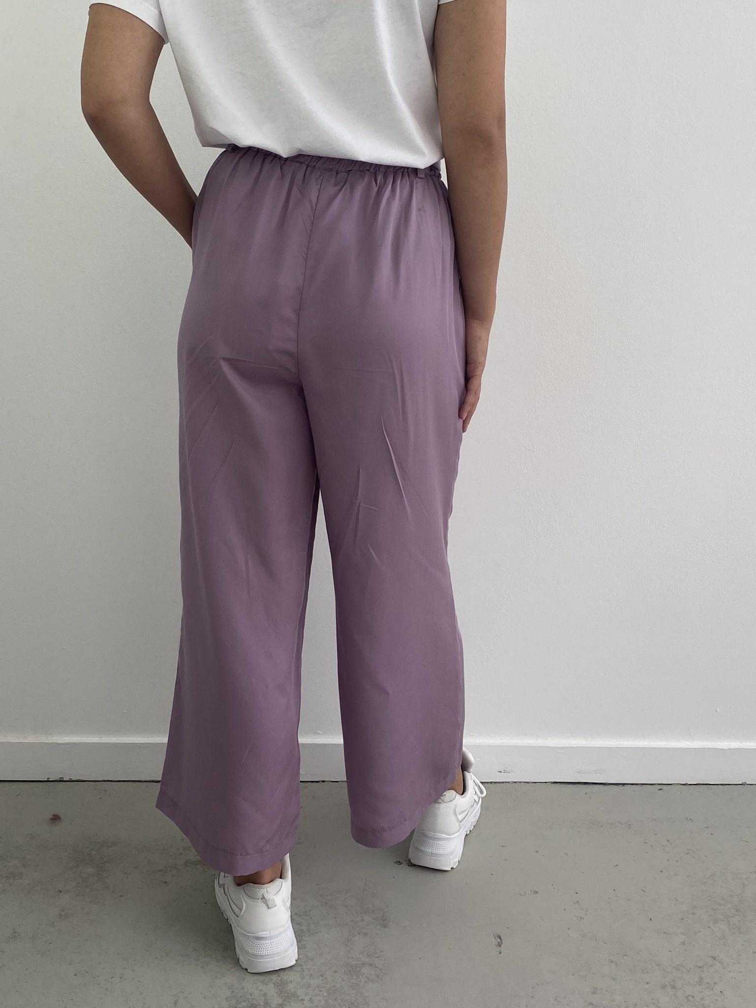 Natu wide pant Purple-3