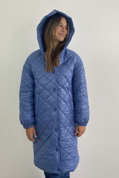 Snöfrid metalic padded jacket Denim