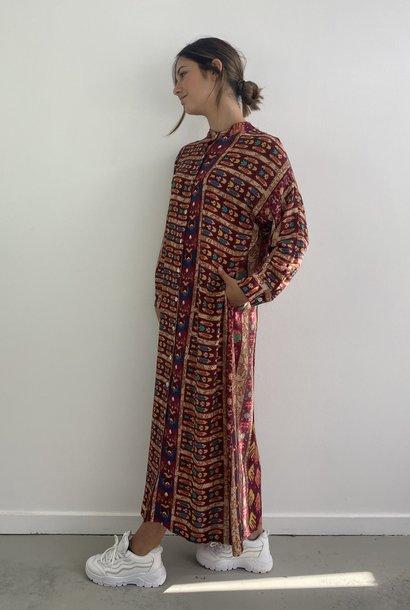 Azusa shirtdress Bordeaux