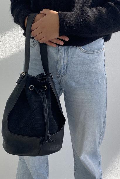 Apone bucket bag Black