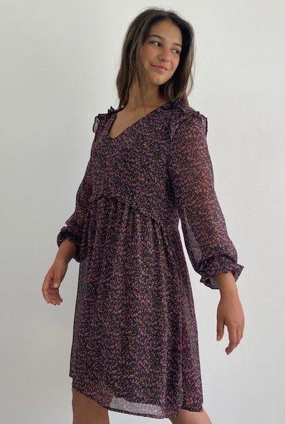 Amy romantic dress Khaki
