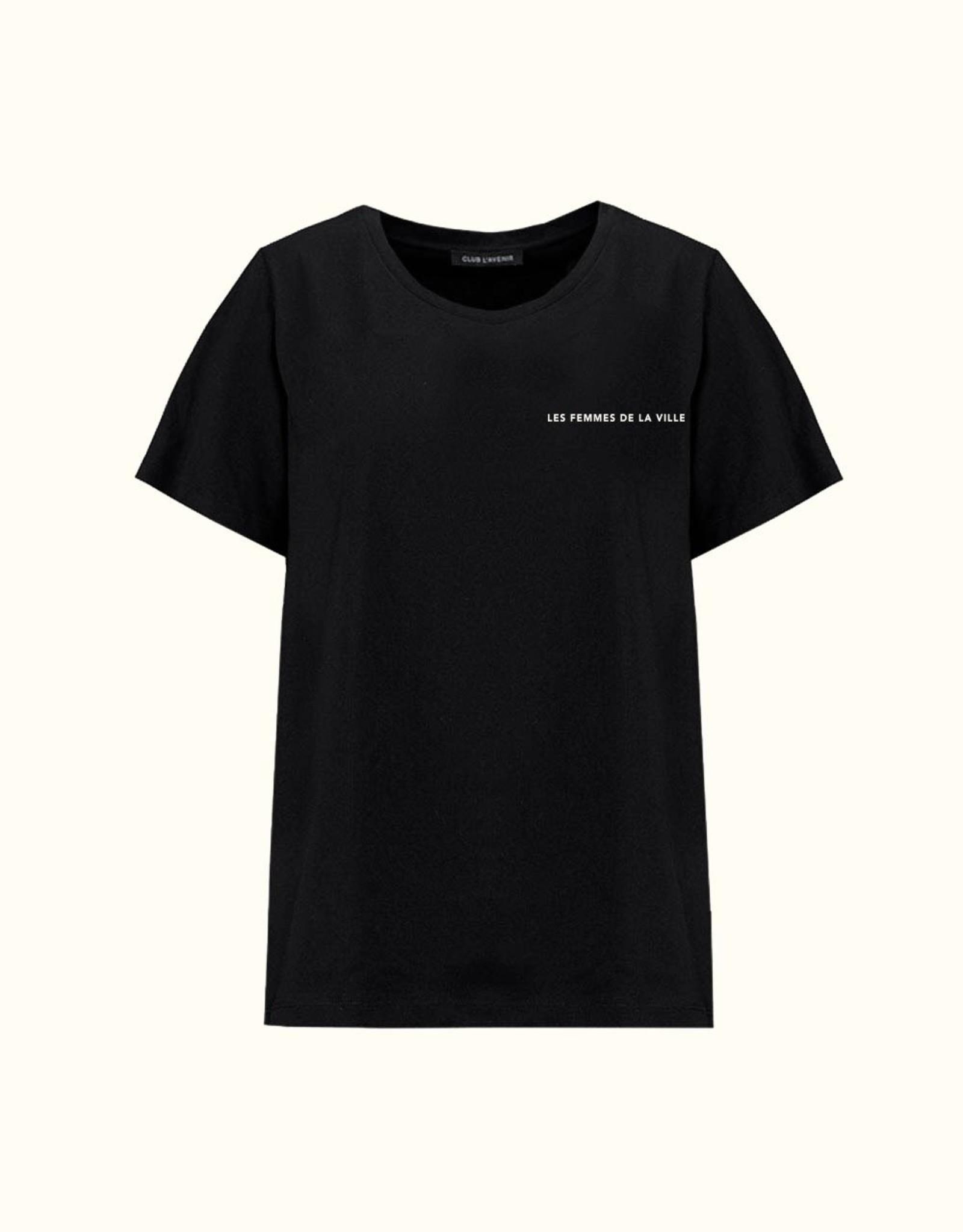 Club l'Avenir Club Tee Black