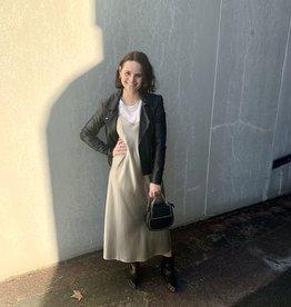 Second Female Arzur Slip Dress Abbey Stone