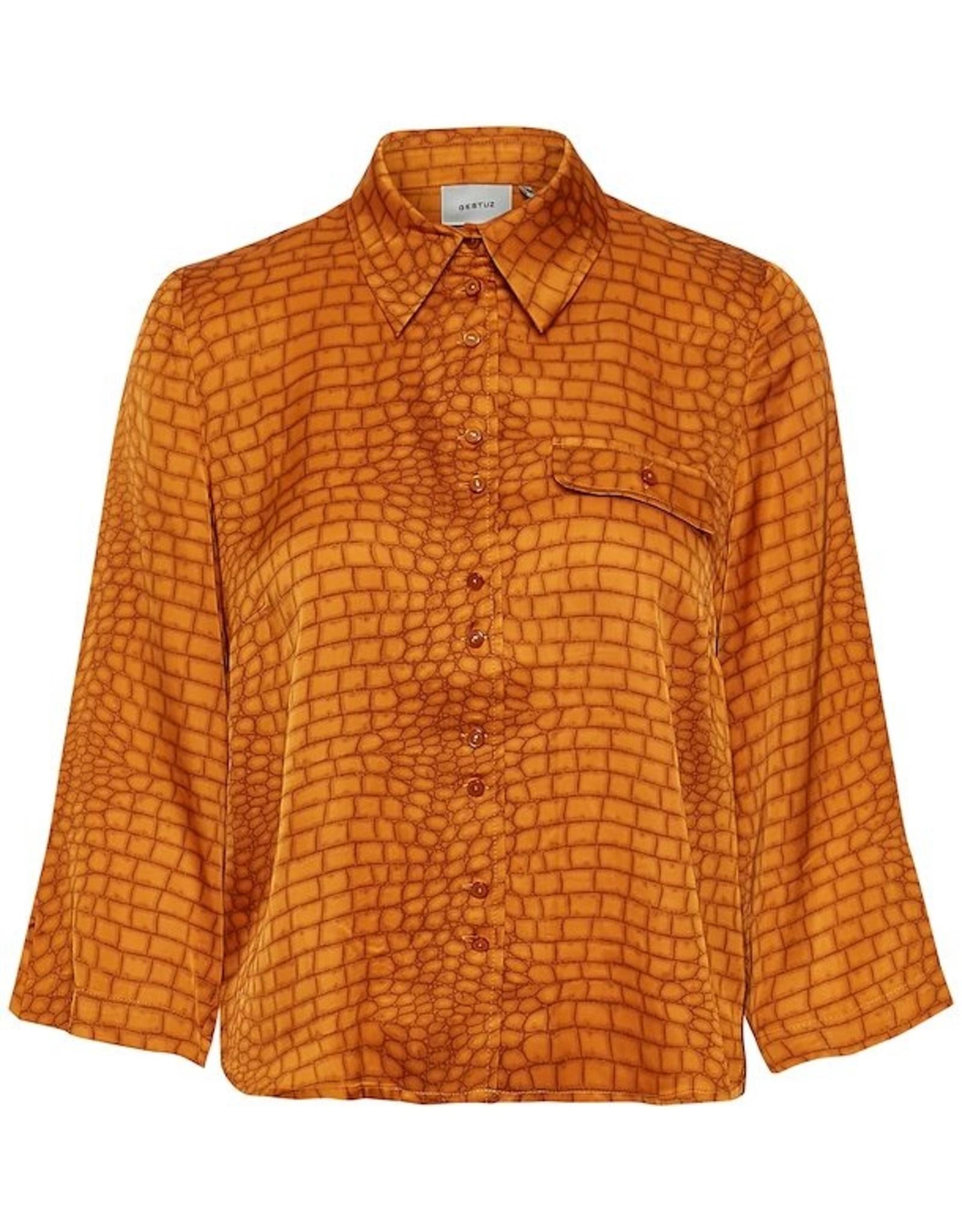 Gestuz Tabby Shirt Golden Oak