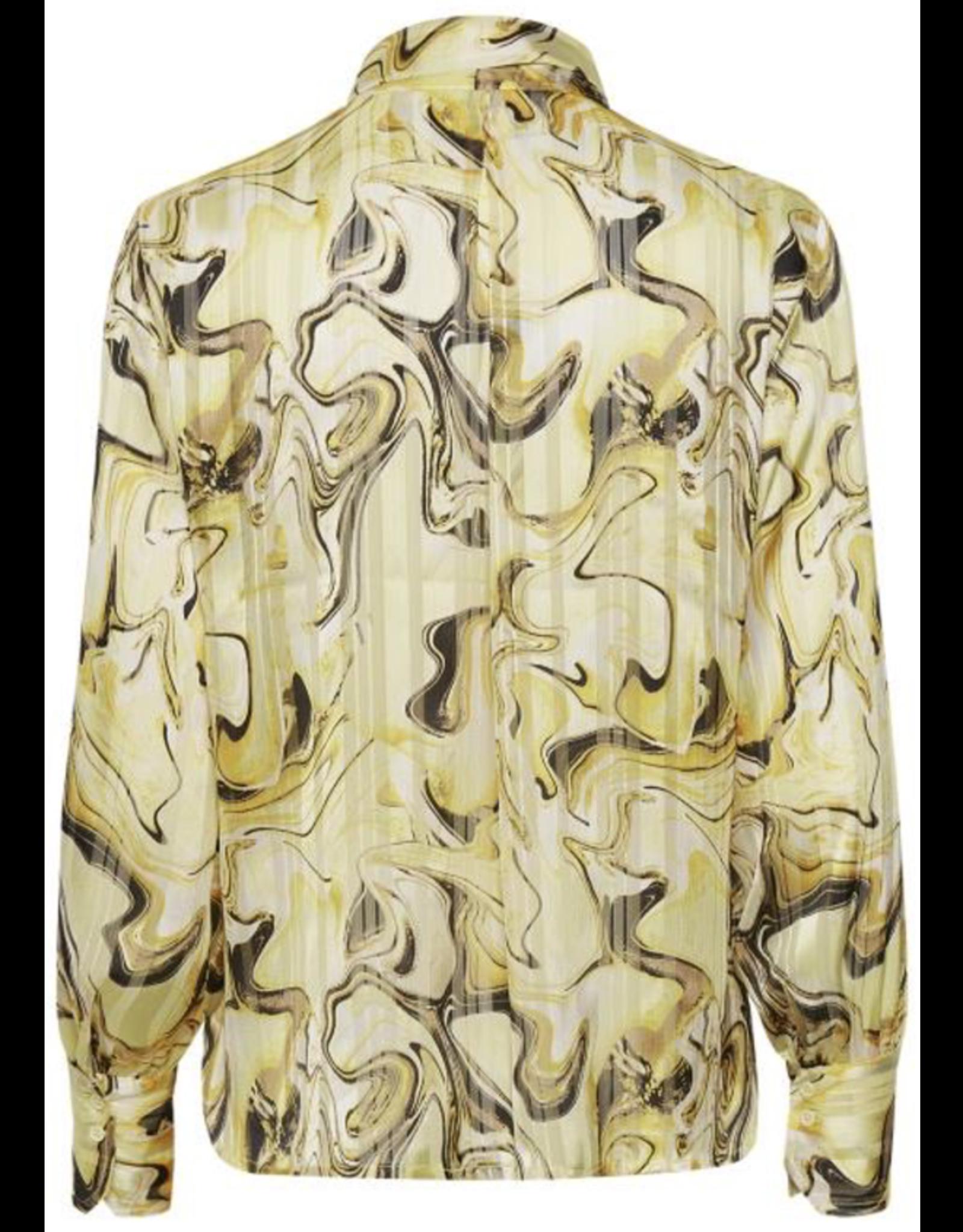 InWear Reema Shirt Yellow Marbling