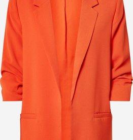 Soaked in Luxury Shirley Blazer Tangerine Tango
