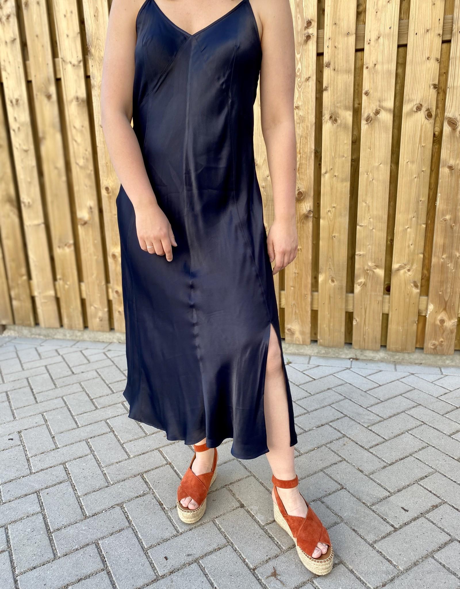 Second Female Eddy Slip Dress Navy