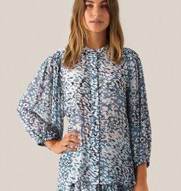 Second Female Clouds Shirt Faded Denim