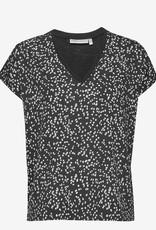 InWear Sicily V T-Shirt Black Windy Dots