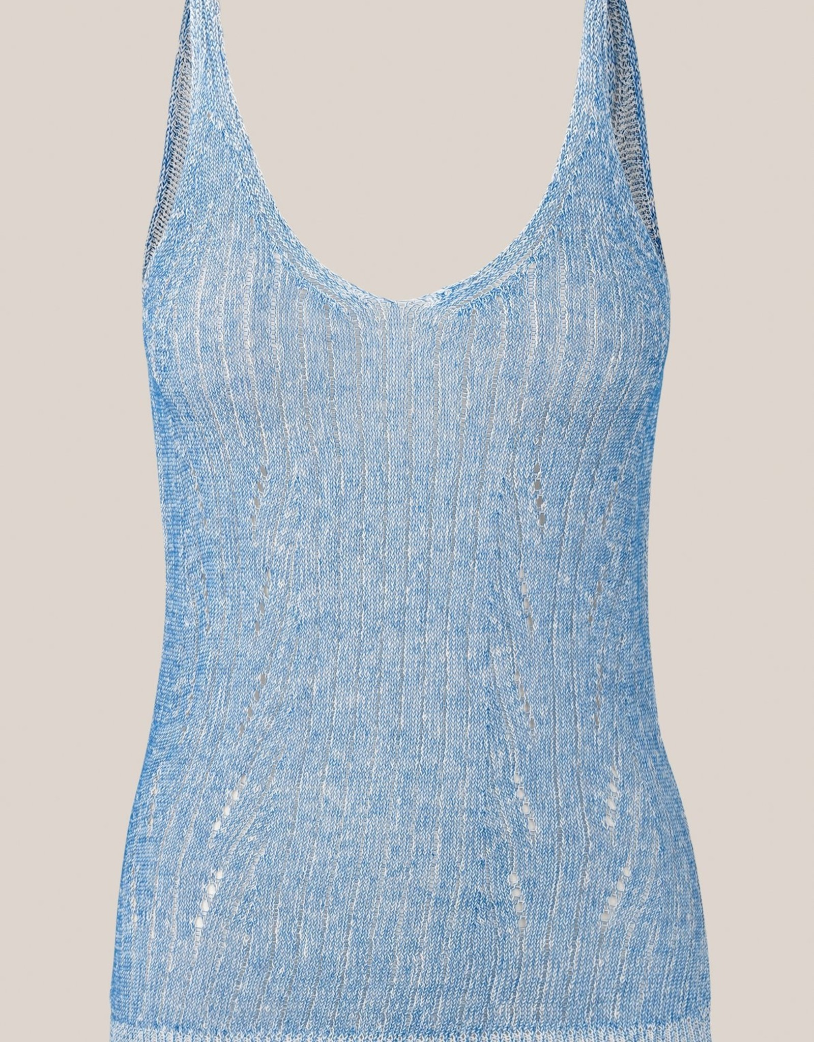 Second Female Nabu Knit Top Brunnera Blue