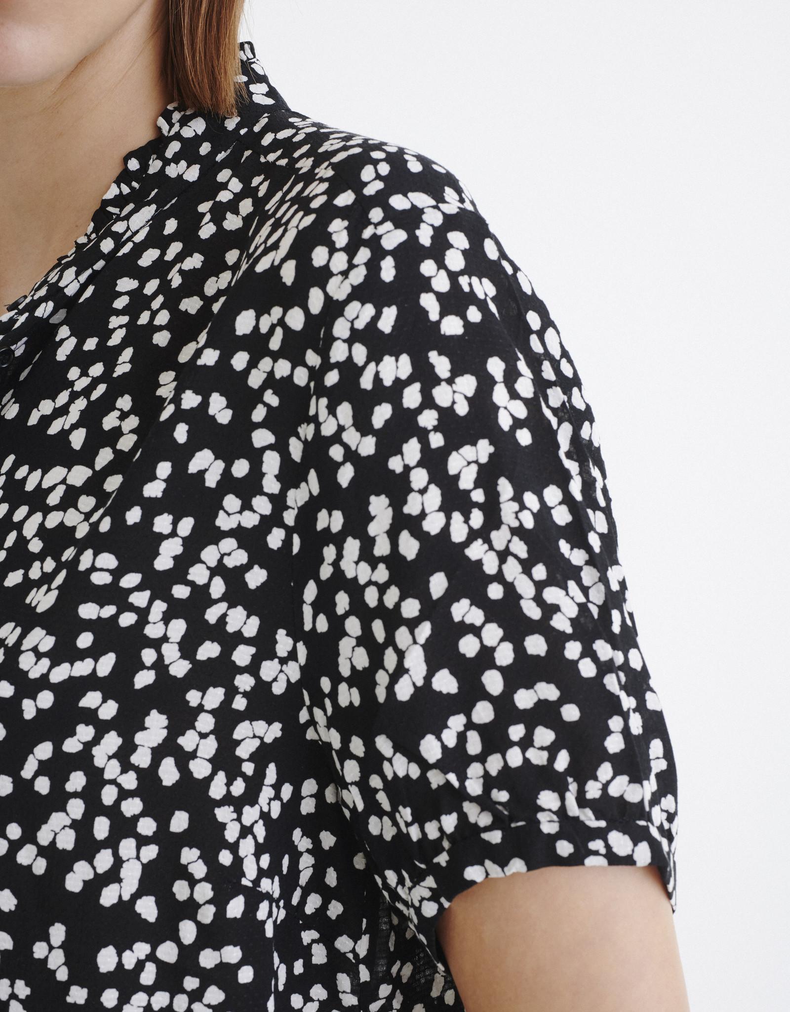 InWear Fia Shirt Black Windy Dots