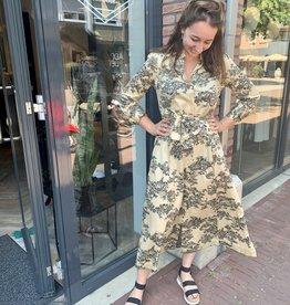 Second Female Picnic Maxi Dress Pebble