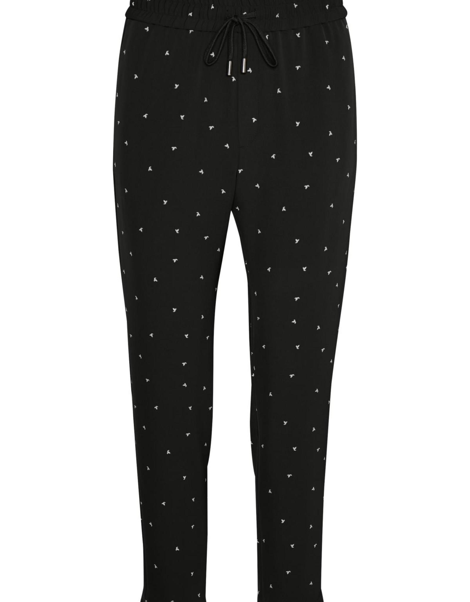 InWear Zaneta Pant Nica Fit Black Spaced Dot