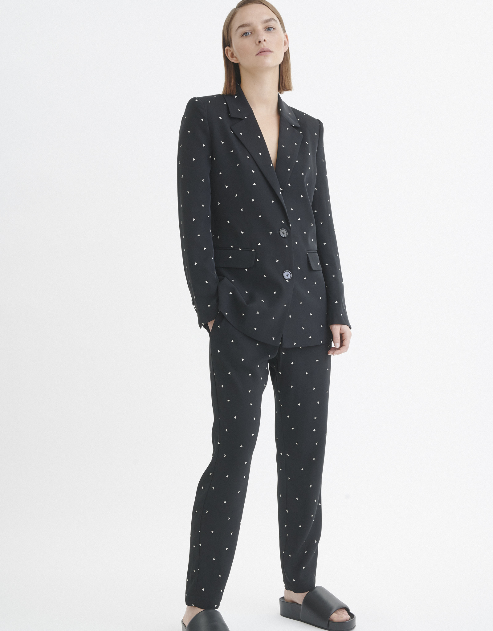 InWear Zaneta Blazer Black Spaced Dot