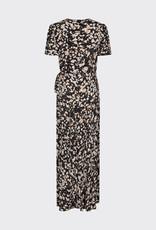 Minimum Elastica Dress Black Print