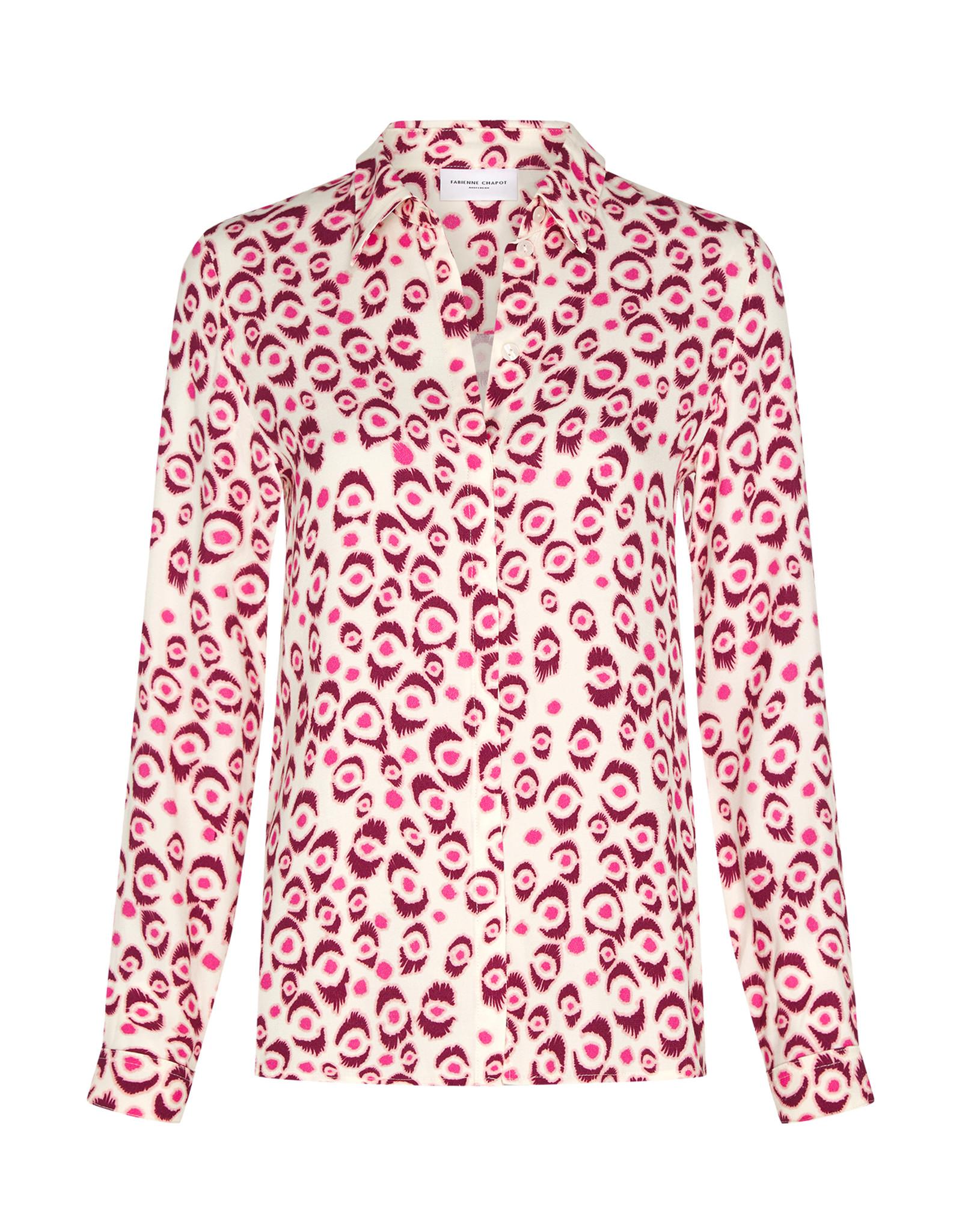 Fabienne Chapot Perfect Blouse Leopard Lashes