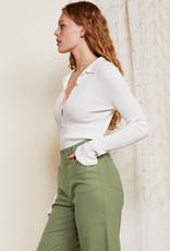 Fabienne Chapot Berry Pullover Cream White