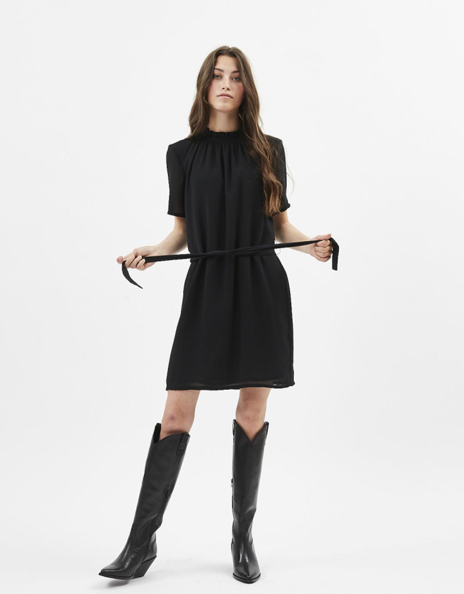 Minimum Lama Short Dress Dark Olive