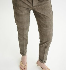 InWear Vice Zella Pant Brown Check