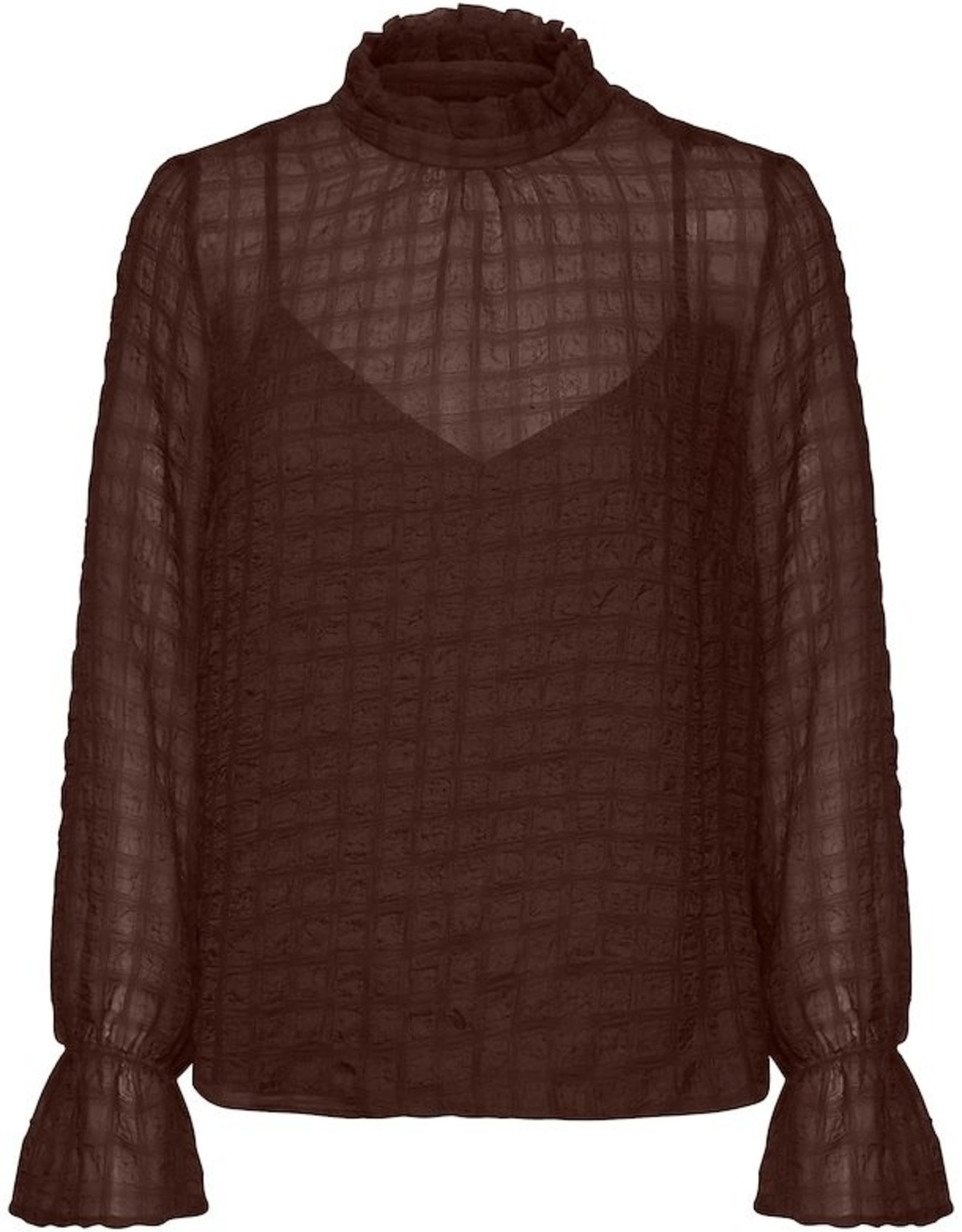 InWear Pakwa Blouse Coffee Brown